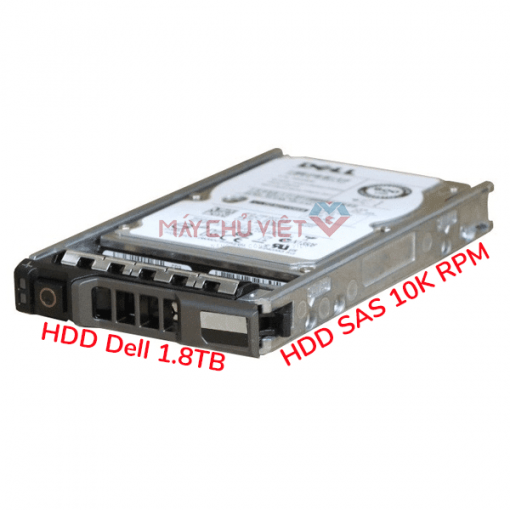 hdd dell 1.8tb 10k rpm sas 512n