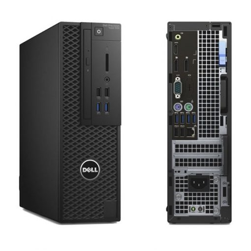 dell precision tower 3420 front back