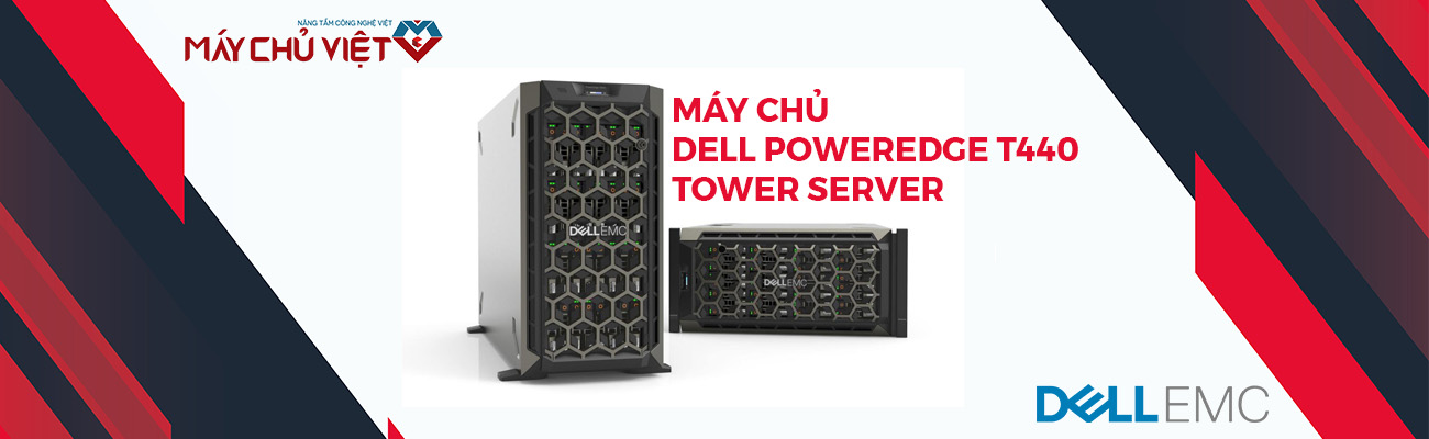 máy chủ dell poweredge t440 tower server banner 1300x400px