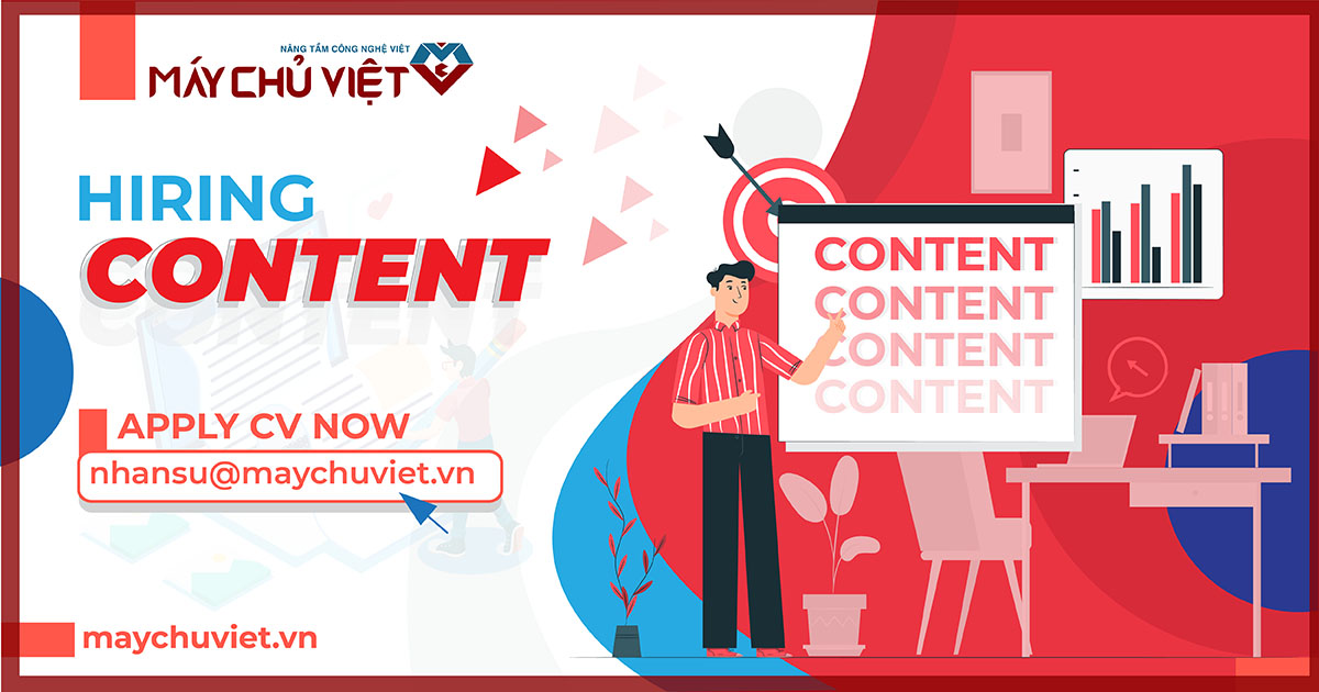 maychuviet tuyển dụng content