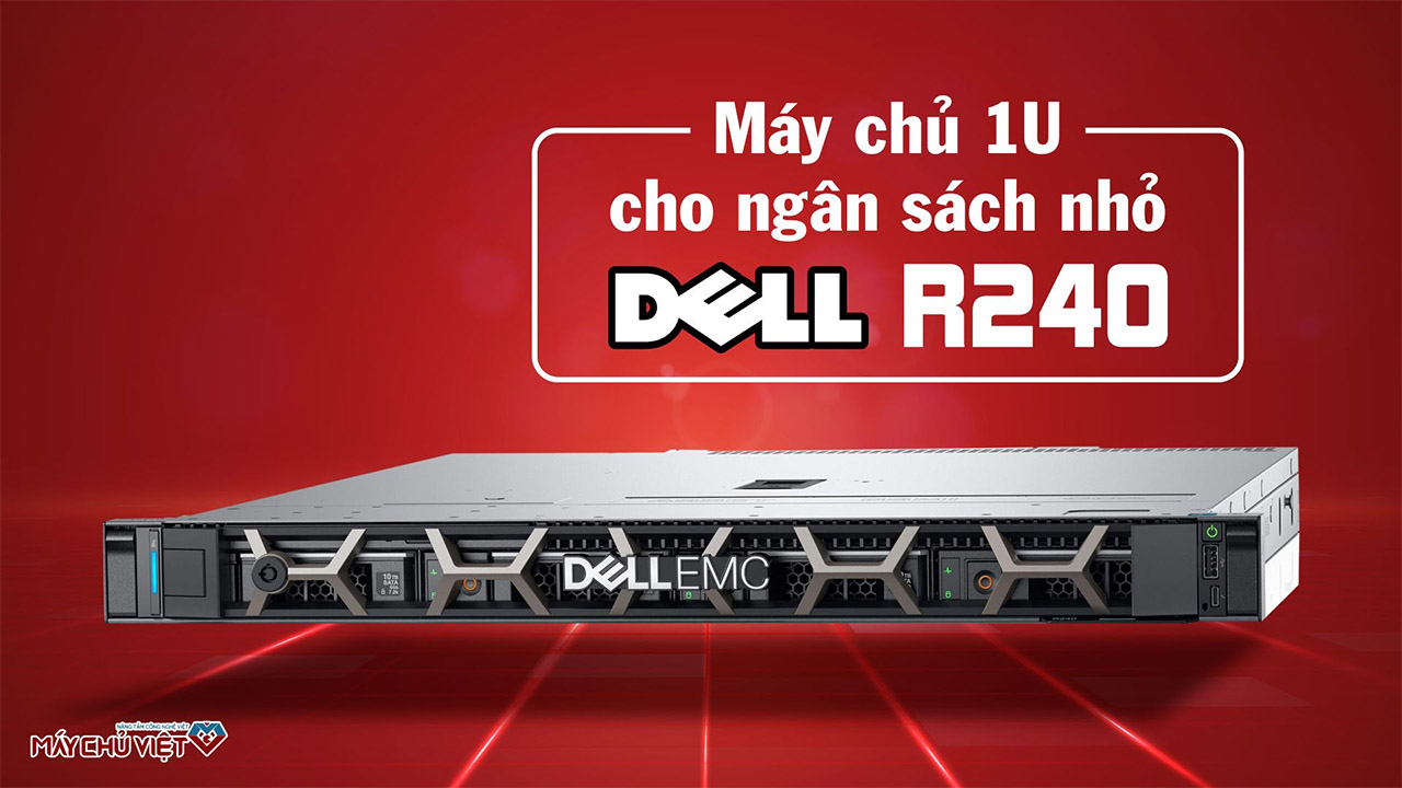Review máy chủ Dell R240