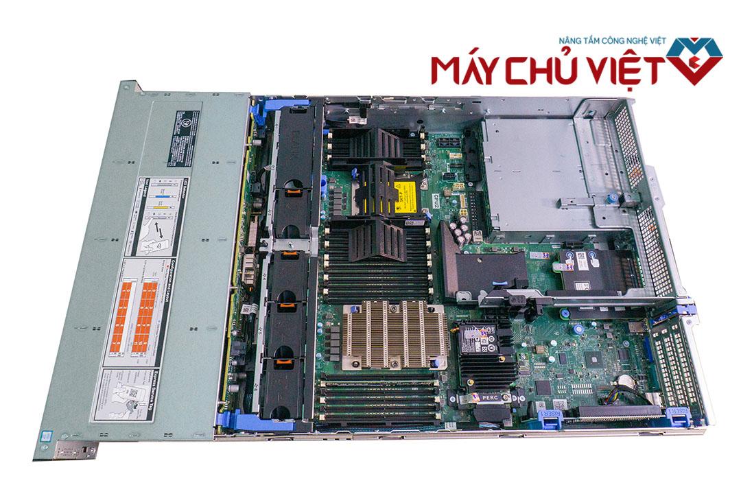 Tổng quan bên trong của Dell R740xd