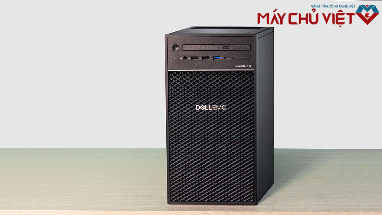 Review chi tiết máy chủ Dell T40
