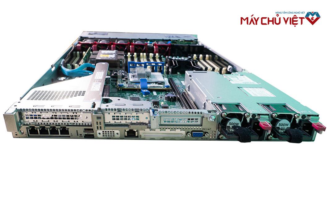Mặt sau của HPE Proliant DL 360 Gen10 tại Máy Chủ Việt
