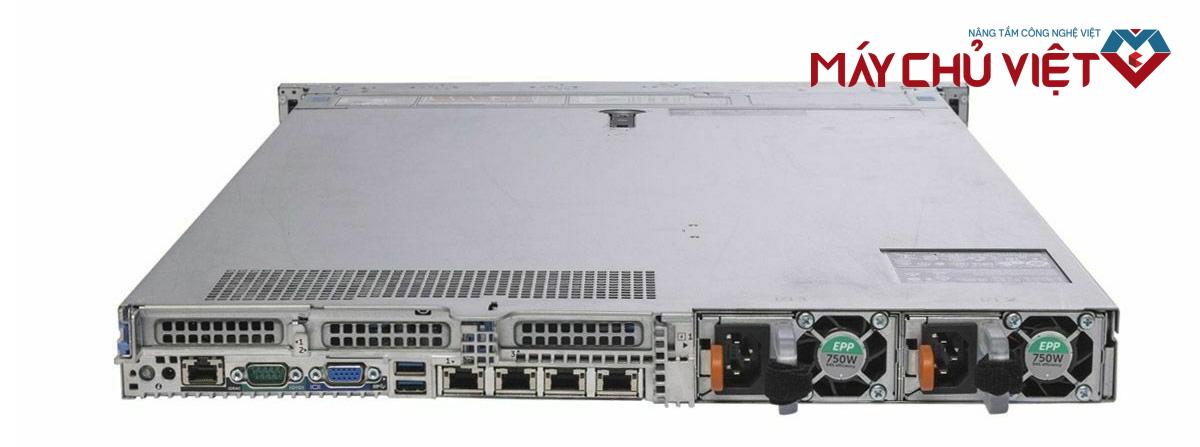 Mặt sau của Dell PowerEdge R640
