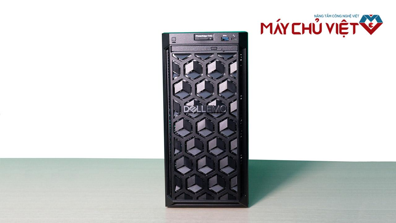 Thiết kế mặt trước của Dell T140