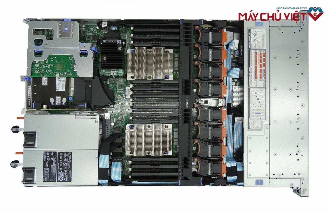 Nội thất bên trong của Dell PowerEdge R640