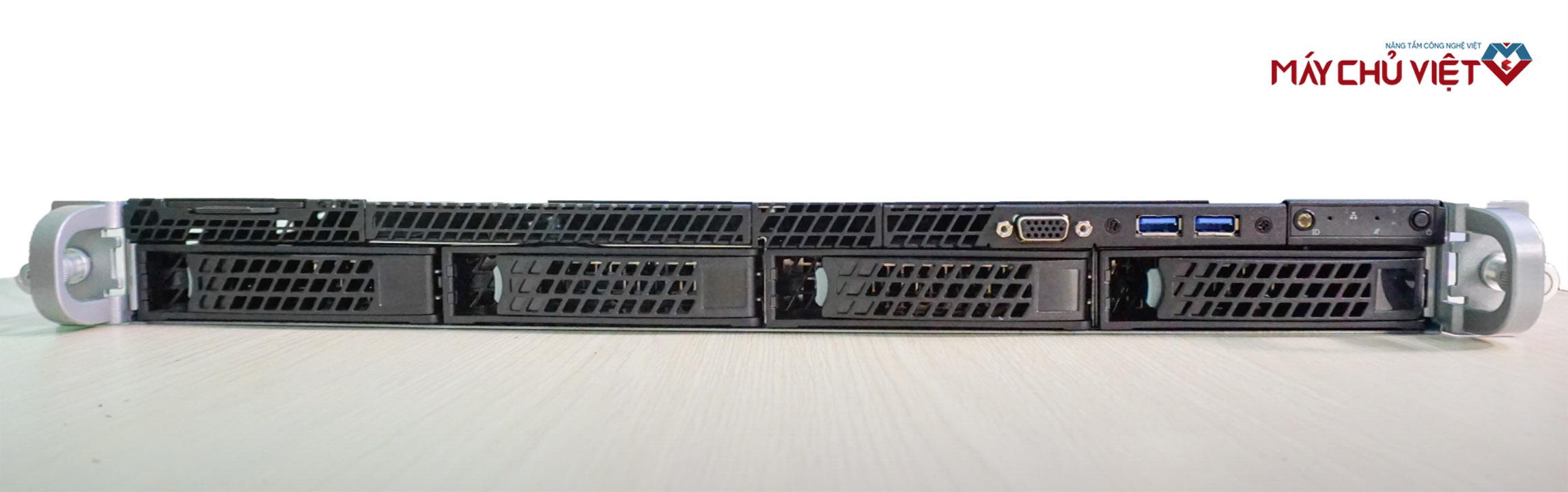 Mặt trước của máy chủ Intel R1304