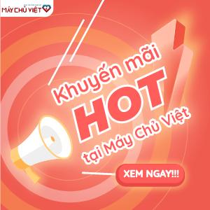 Khuy mãi Máy Chủ Việt